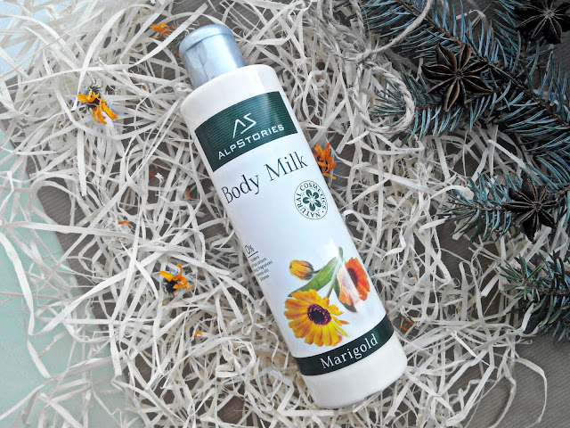 "AlpStories Body Milk Marigold Молочко для тела ""Календула"""