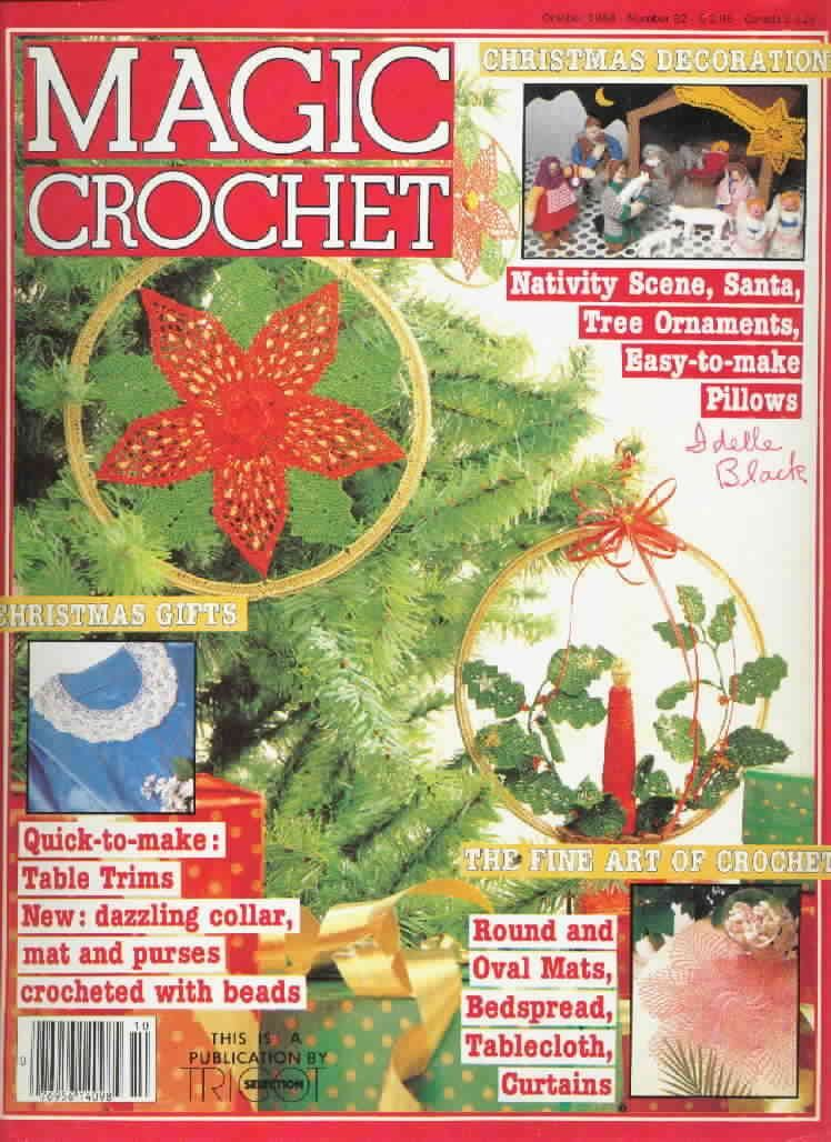 Magic Crochet No. 32 ~ Free Crochet Patterns