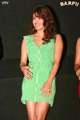 Barfi! Trailer Launch Images Featuring Hot Priyanka Chopra