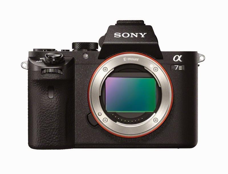 Il sensore full frame della Sony A7 II
