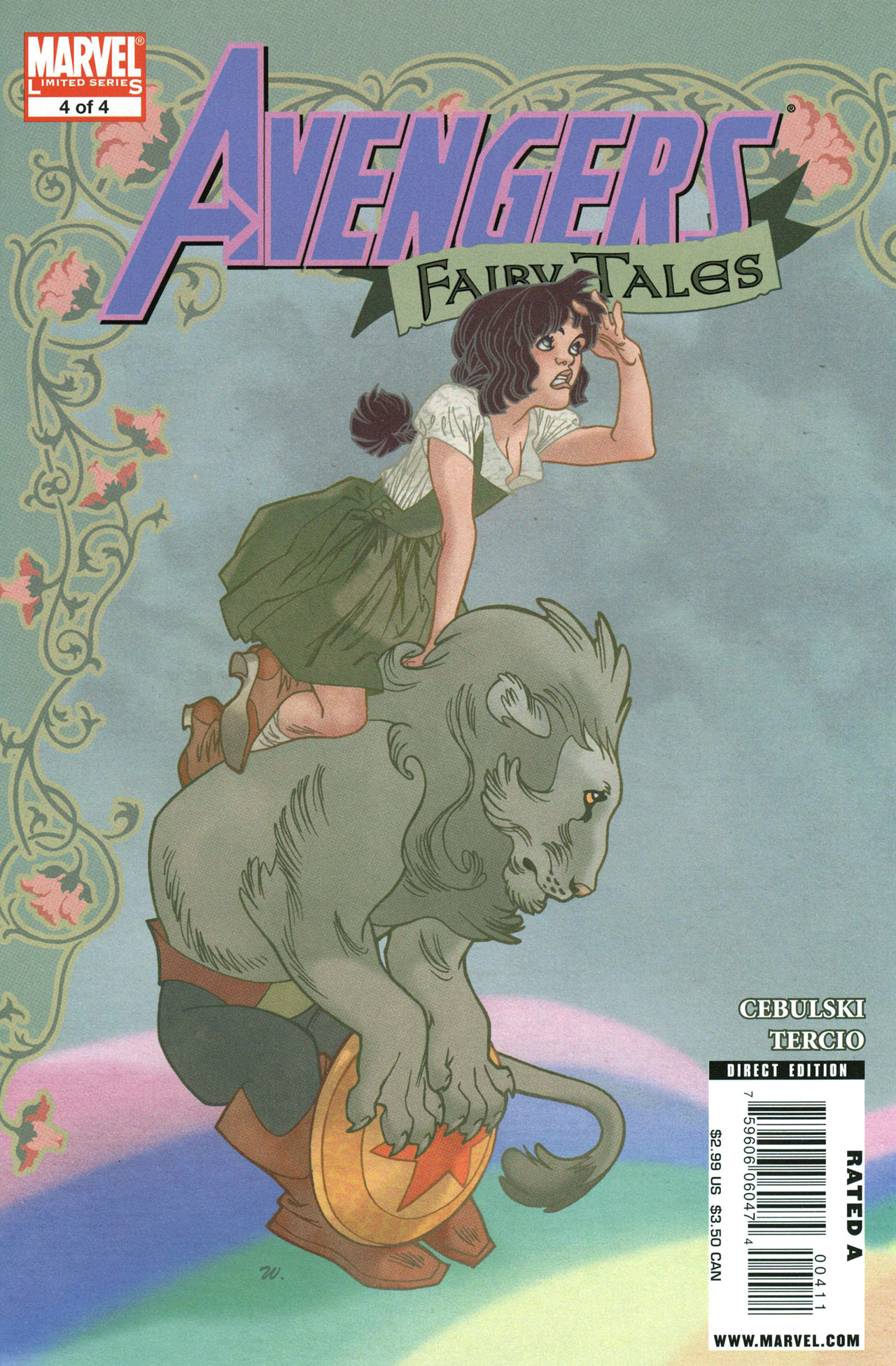 Avengers Fairy Tales 4 Page 1