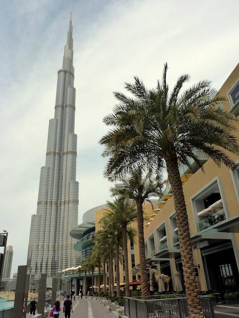 Burj Khalifa, edificio más alto del mundo