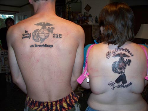 Brother and sister tattoo quotes quotesgram for Big sister and little sister tattoos