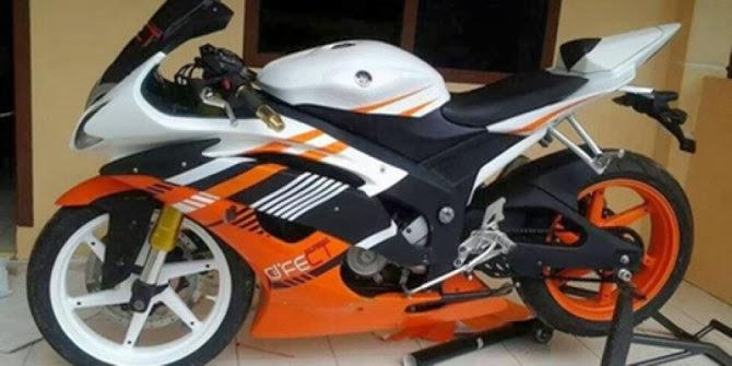 Foto Modifikasi Motor