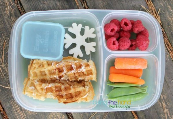 Breakfast for Lunch! Van's gluten-free waffles - Biting the Hand That Feeds You