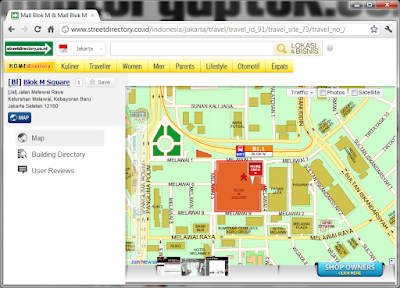 Lihat Jalur Busway, Kereta, Alamat, dan Tol Jabodetabek, Cukup di Streetdirectory.co.id