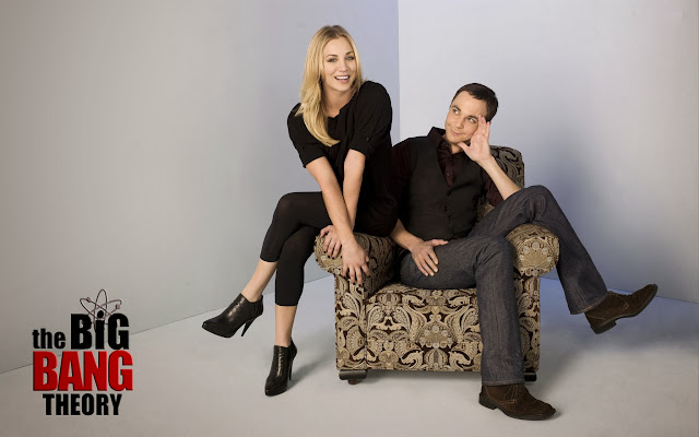Jim Parsons y Kaley Cuoco