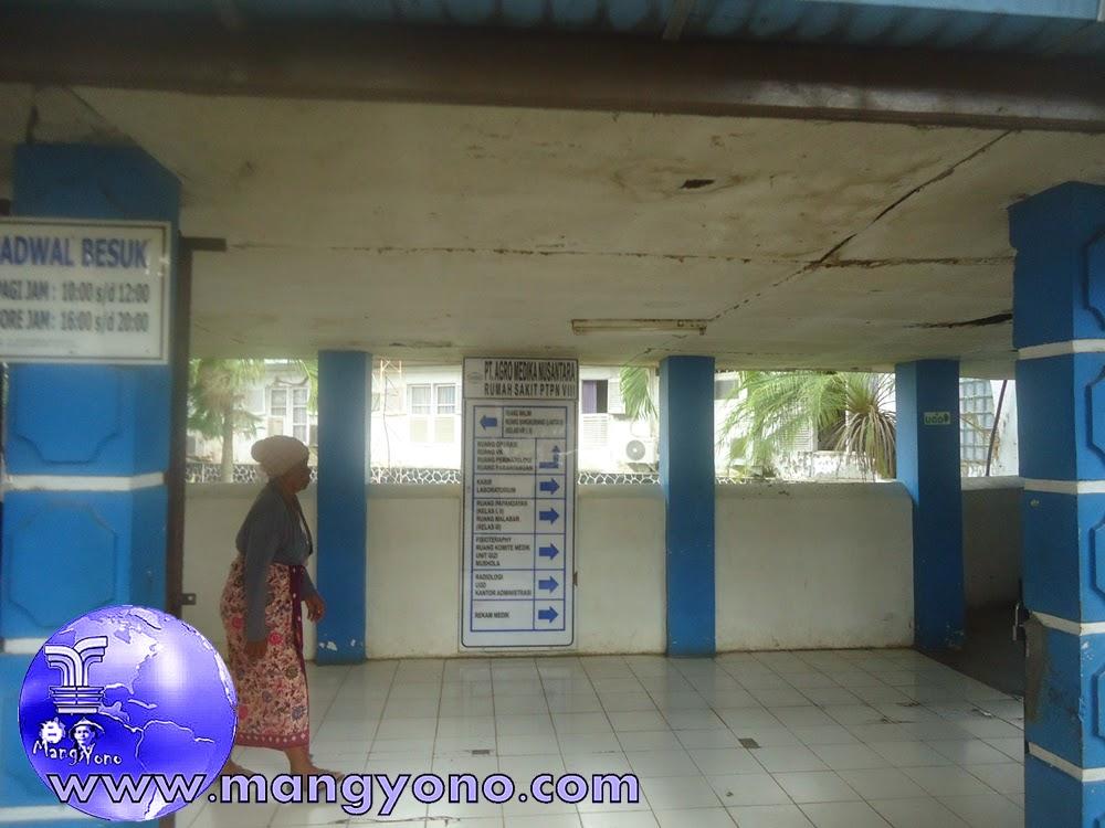 petunjuk arah di RS PTPN VIII Subang
