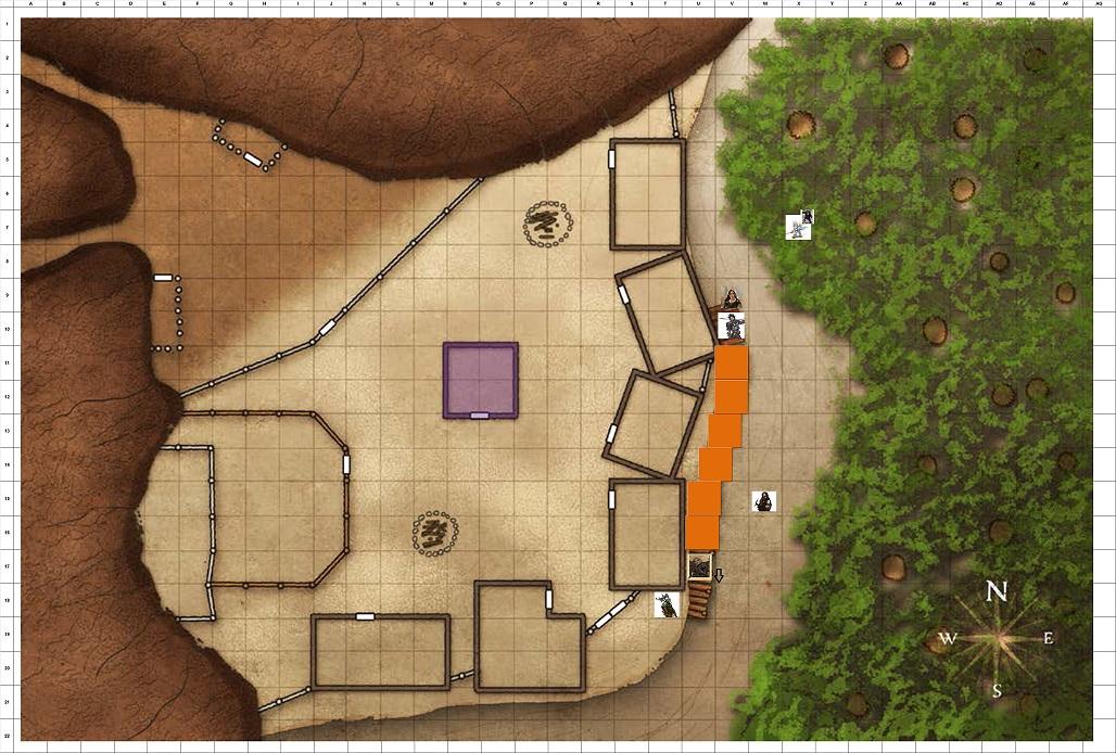 Combat Map Turn 34