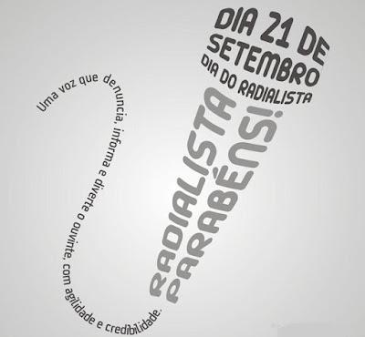 Dia do Rádio - Por Carlos Moreira / Ipueiras-Ce