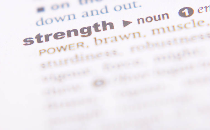 Word Strength of The Word Strength