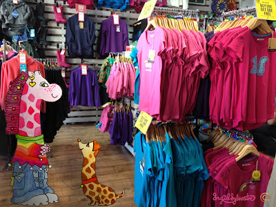 Necky Becky visits Mountain Warehouse Clacton Factory Outlet - Stand Tall for Giraffes - Ingrid Sylvestre
