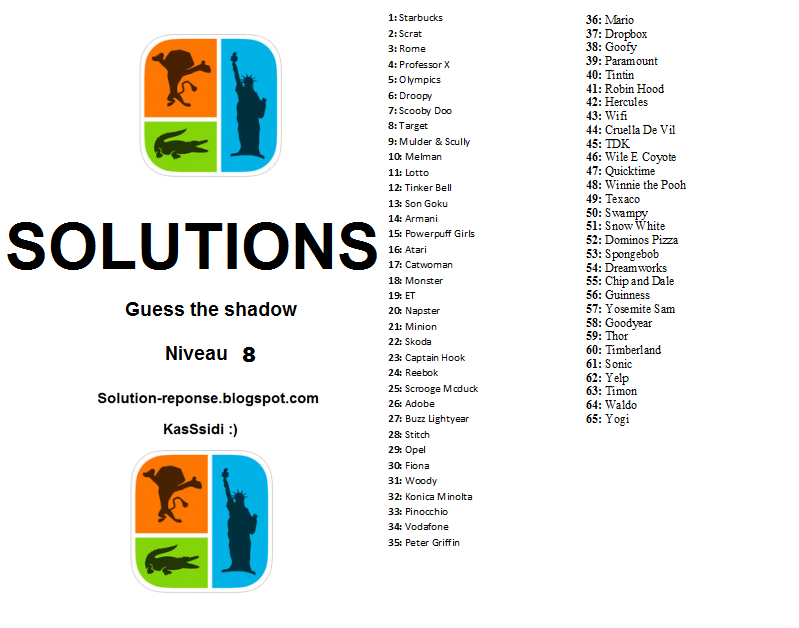 Guess-the-Shadow-Pop-Culture-Quiz-solution niveau 8
