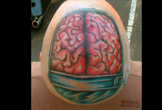 Really cool pictures cool but weird tattoos for Strange world tattoos