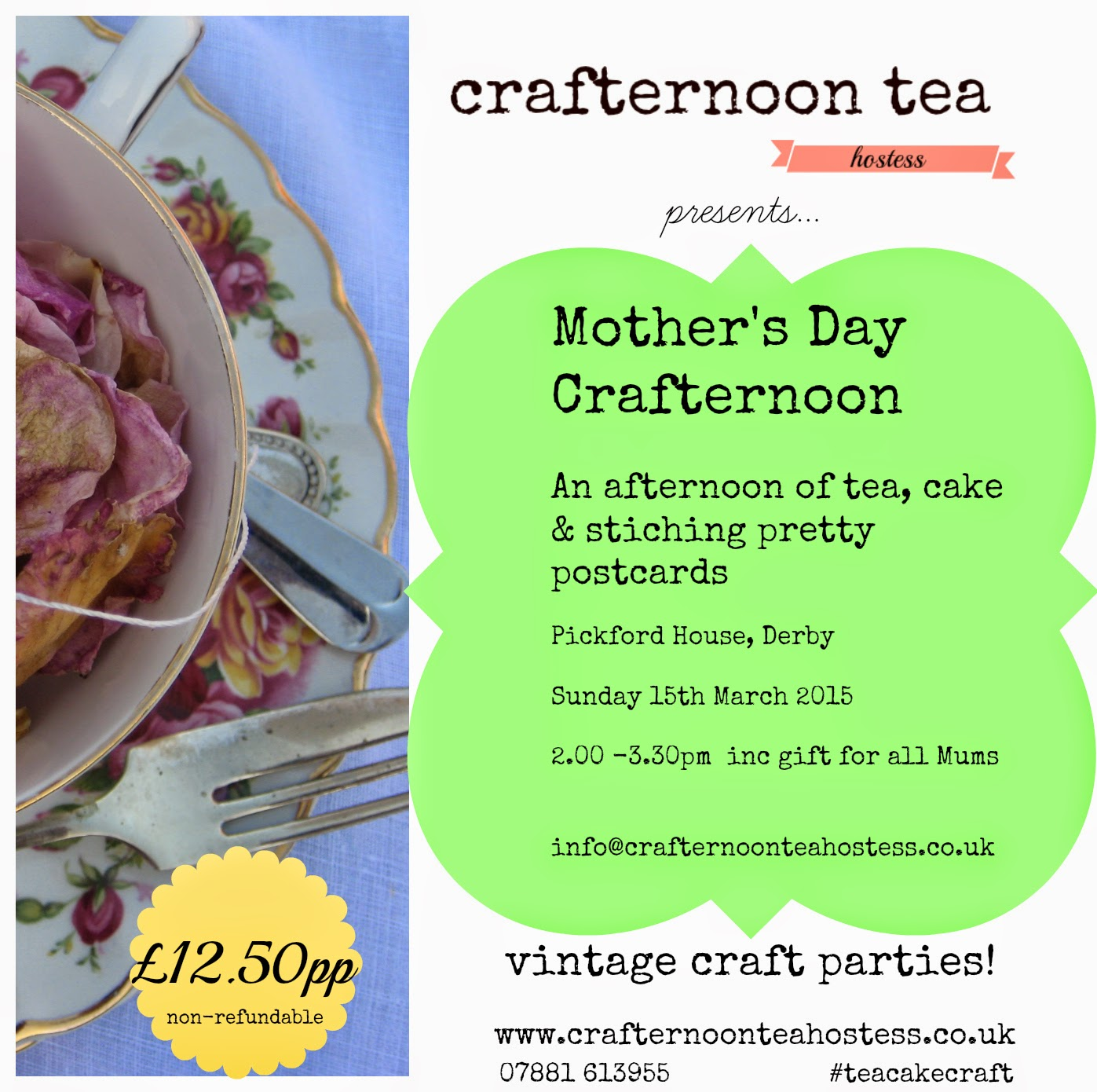 crafternoon, derbyuk