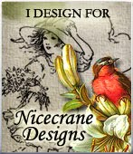 I am on the design team at Nicecrane Designs
