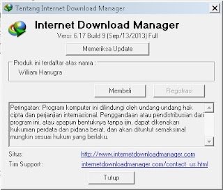 idm terbaru 6.17 build9