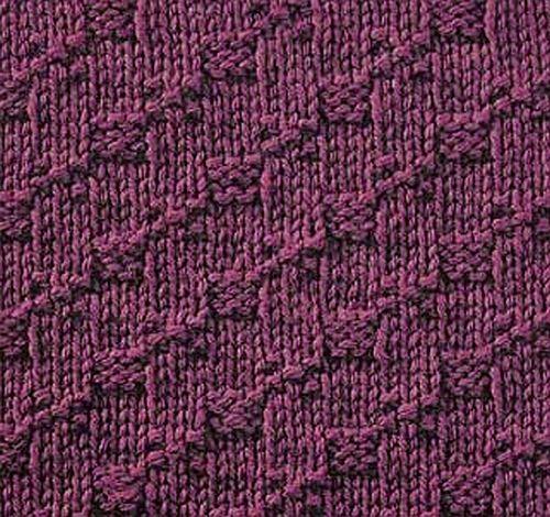 Knitting No Stitch : Knitting Galore: Saturday Stitch: Step Stitch