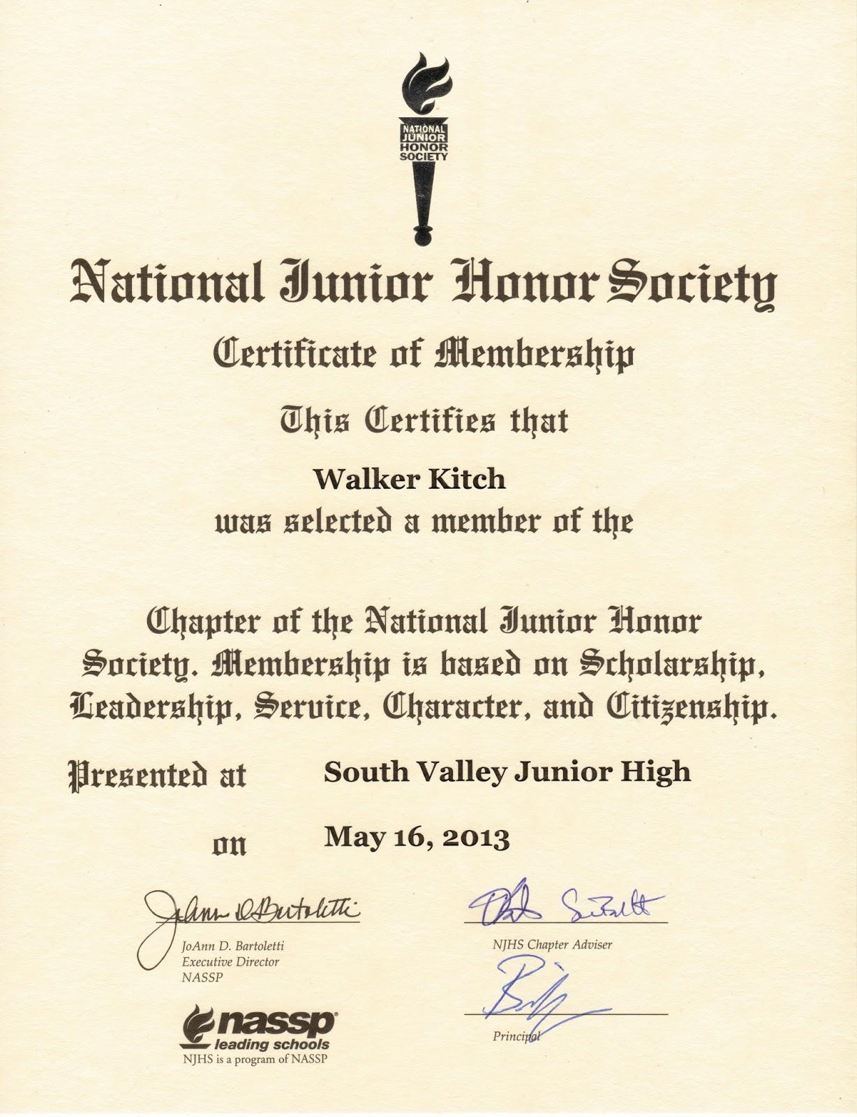 scholarship essay njhs