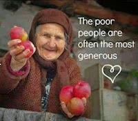 Orang miskin yang dermawan