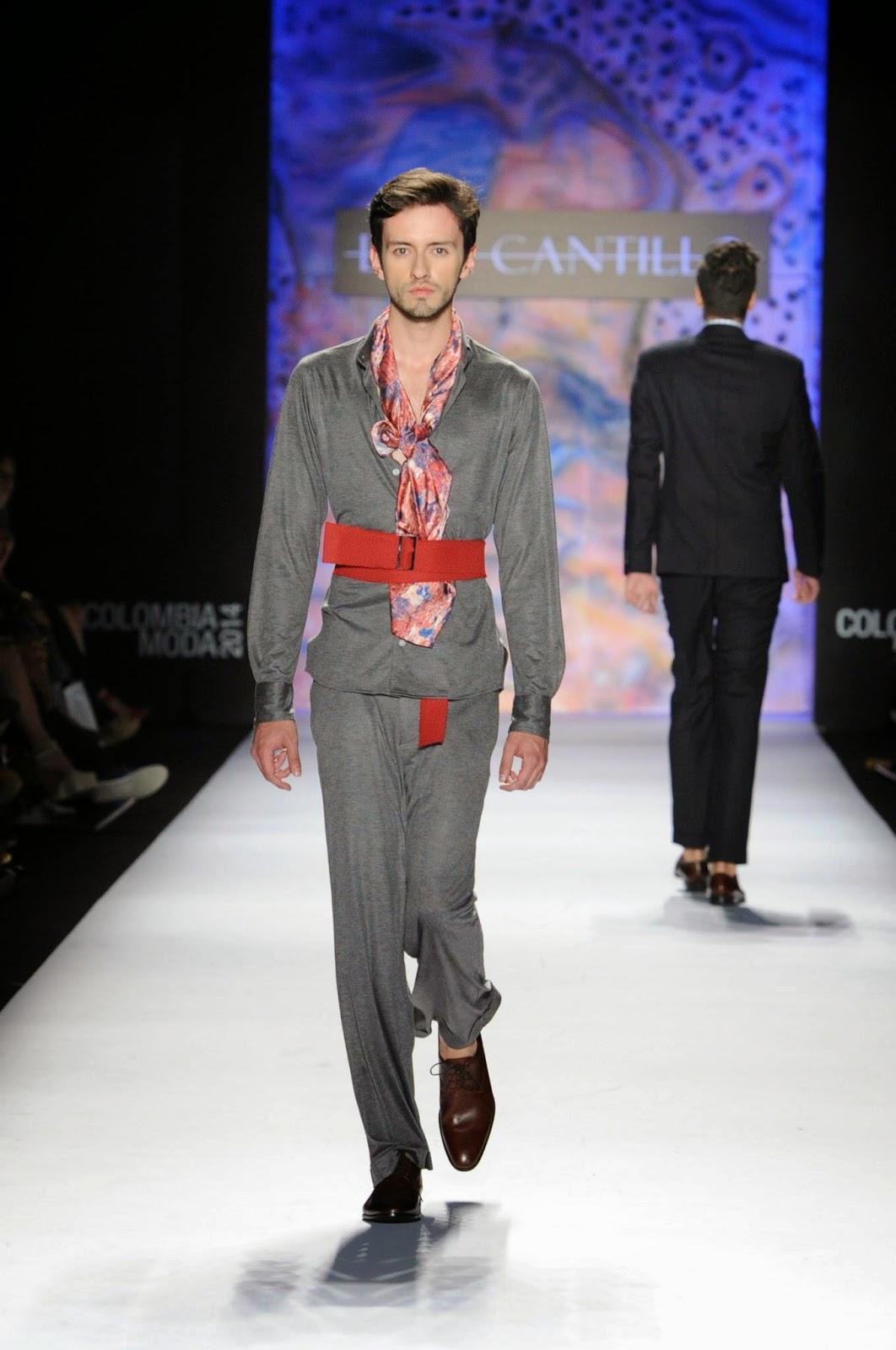 lina cantillo colombiamoda 2014 male fashion trends