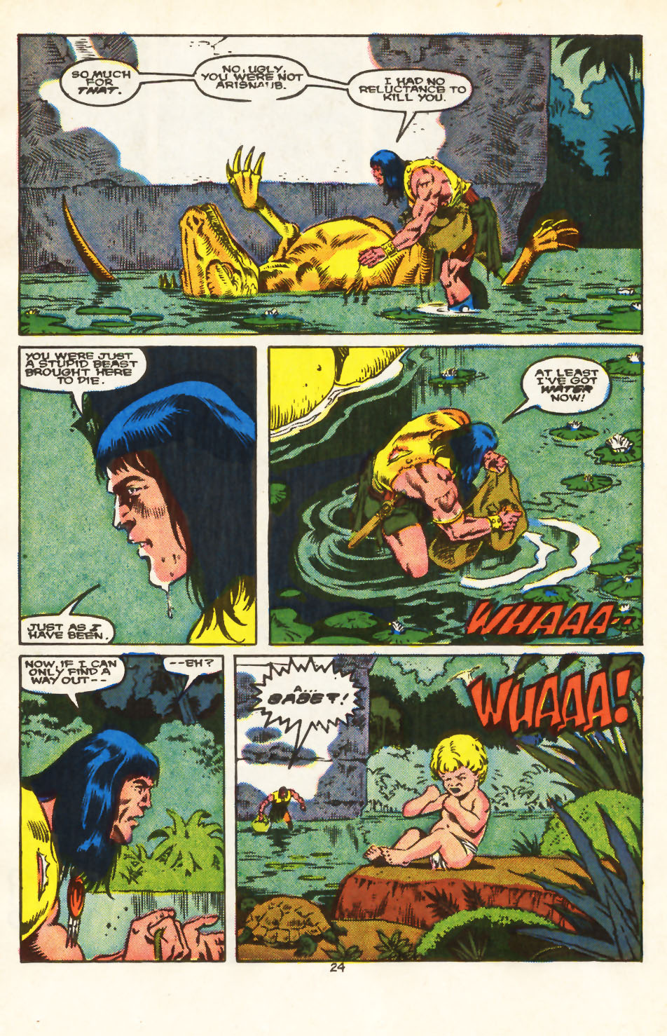 Conan the Barbarian (1970) Issue #213 #225 - English 19