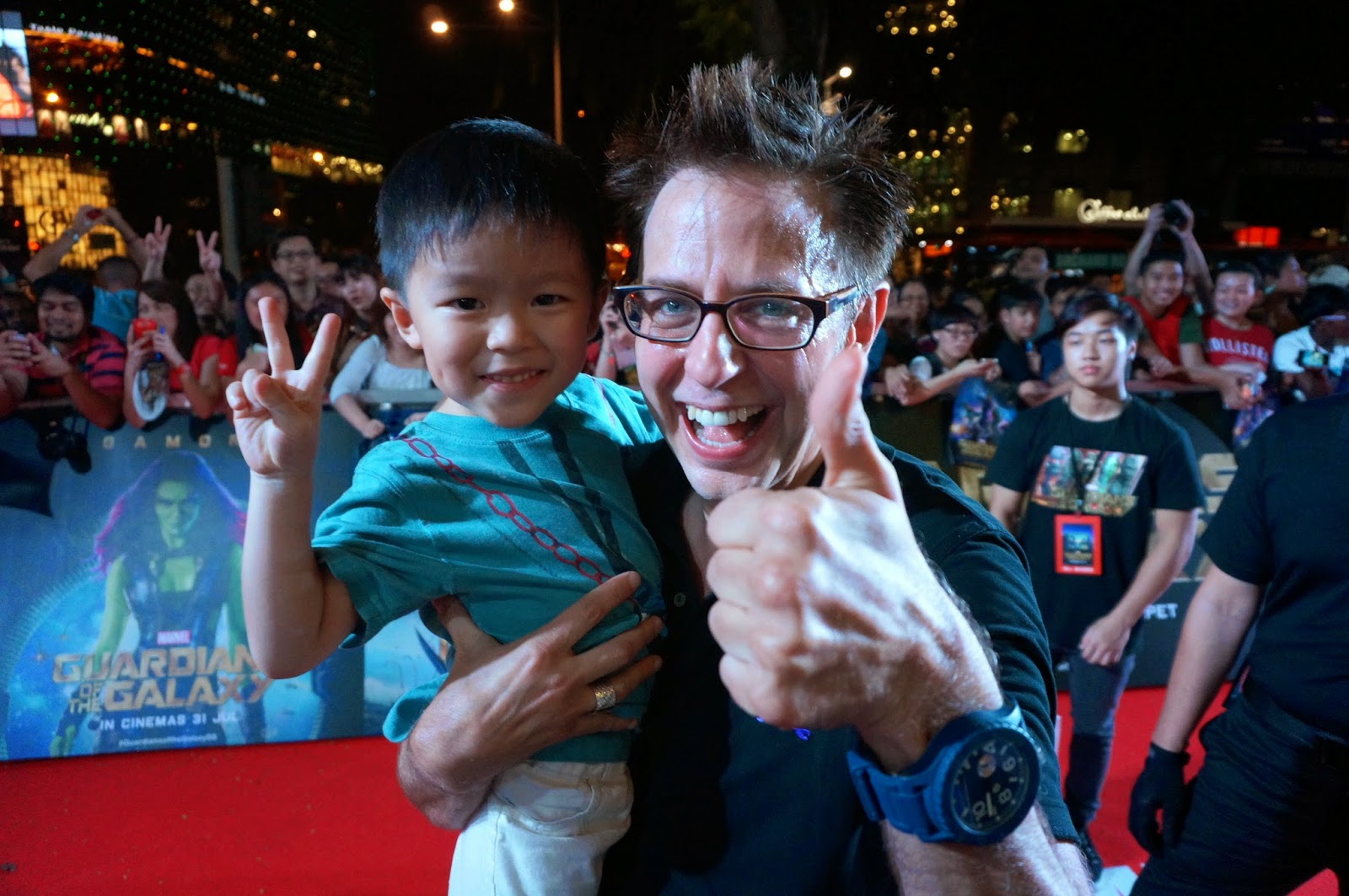 James Gunn Guardians of The Galaxy Singapore