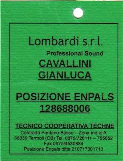 Pass Lombardi Service generico 2010