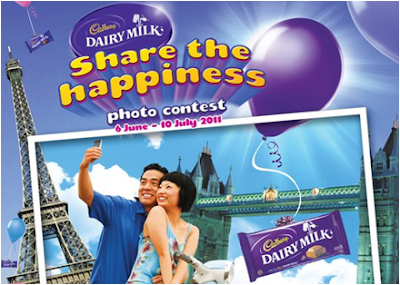 Cadbury 'Share the Happiness' Photo Contest
