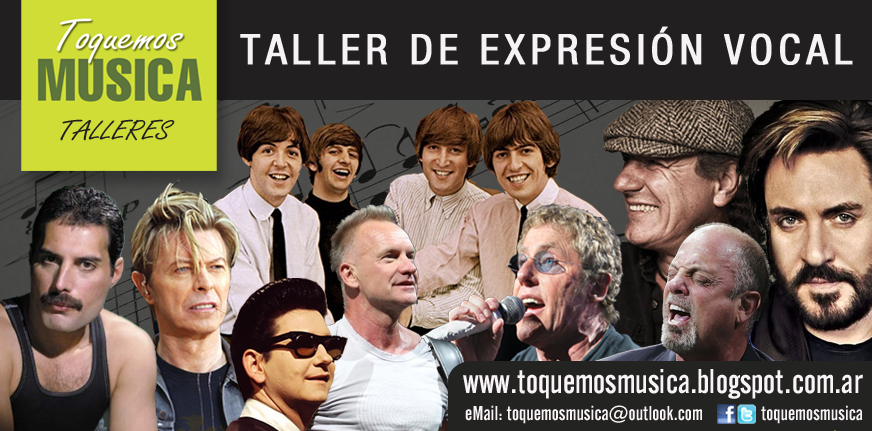 TALLER DE EXPRESION VOCAL
