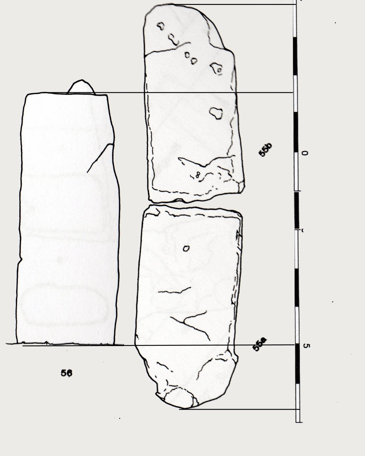 Stone Elevation Drawing : Sarsen stone putting the record straight