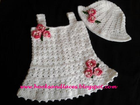 Hooks And Laces Crochet Baby Tunic Dress