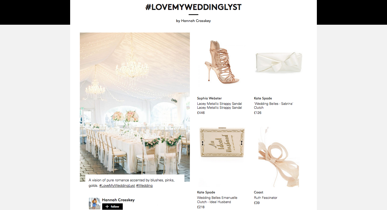 http://www.lyst.com/user/hannahcrosskey/lovemyweddinglyst/