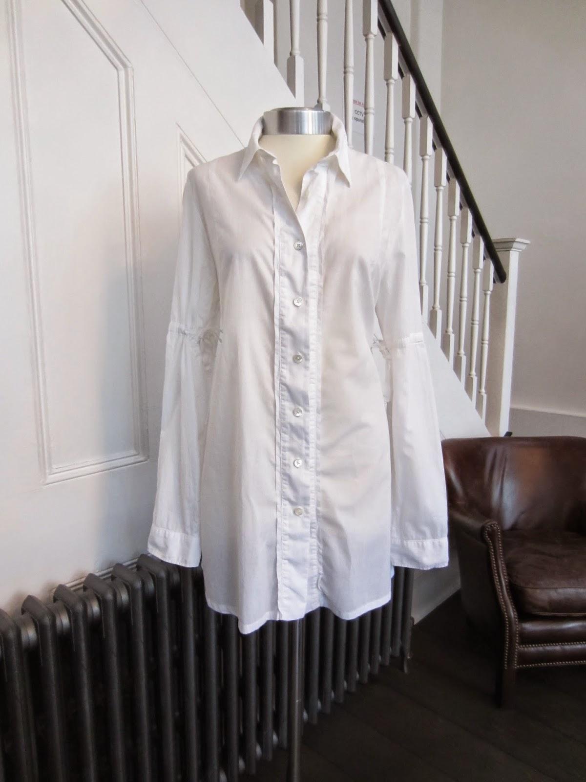 Ann Demeulemeester White Shirt