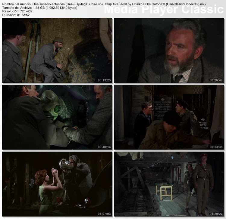 ¿Qué sucedió entonces? (Quatermass 3) | 1967 | Quatermass and the Pit (AKA Five Million Years to Earth)