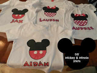Mickey & Minnie Painted Shirts