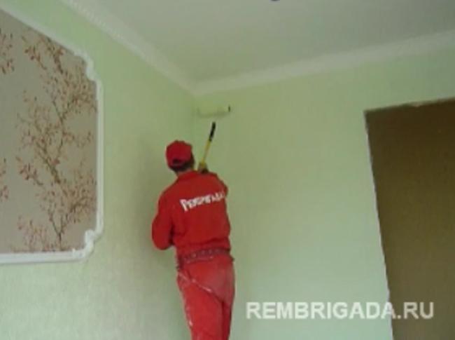 Покраска квартиры своими руками