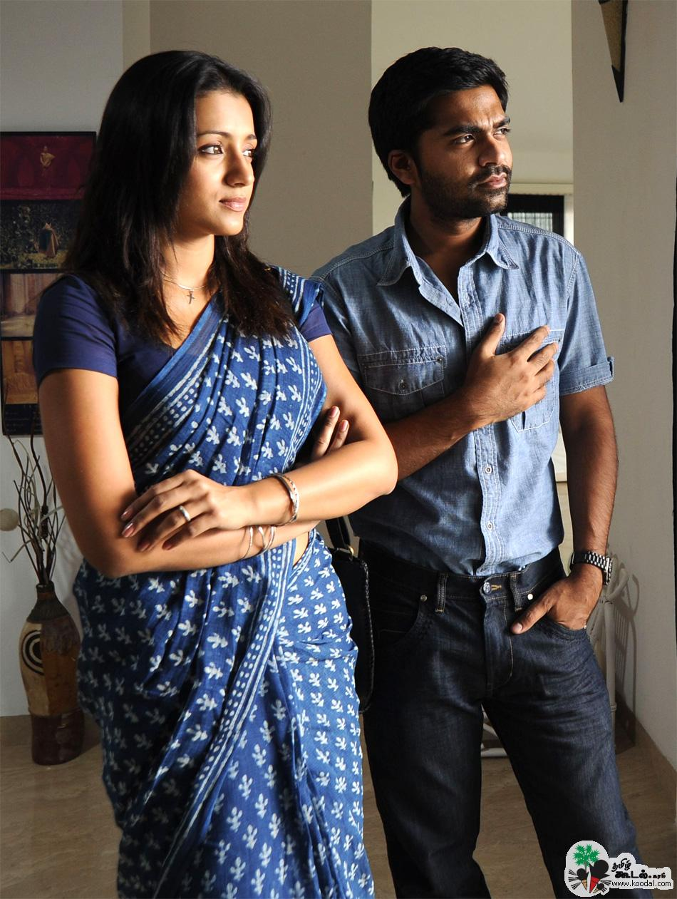 Vinnai Thandi Varuvaya Movie Stills Simbu And Trisha | www ...