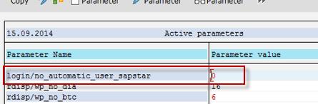 change login password in sap