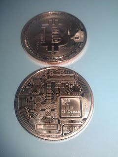 Copper bitcoin physical coins