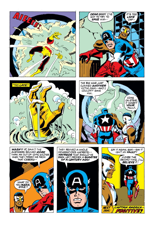 Captain America (1968) Issue #168 #82 - English 21