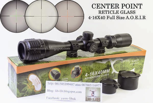 CENTERPOINT 4-16X40 A.O.I.R RETICLE GLASS