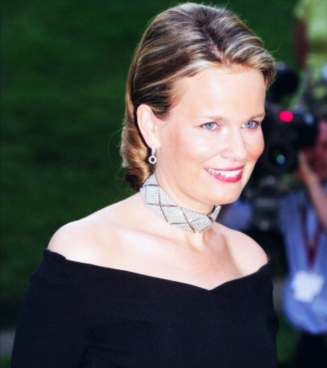Queen Mathilde welcome Belgium's head coach