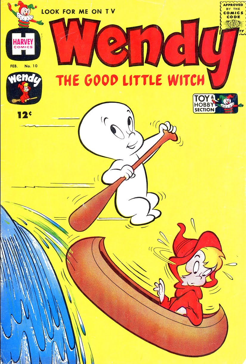 the big blog of kids u0027 comics wendy the good little witch 1962
