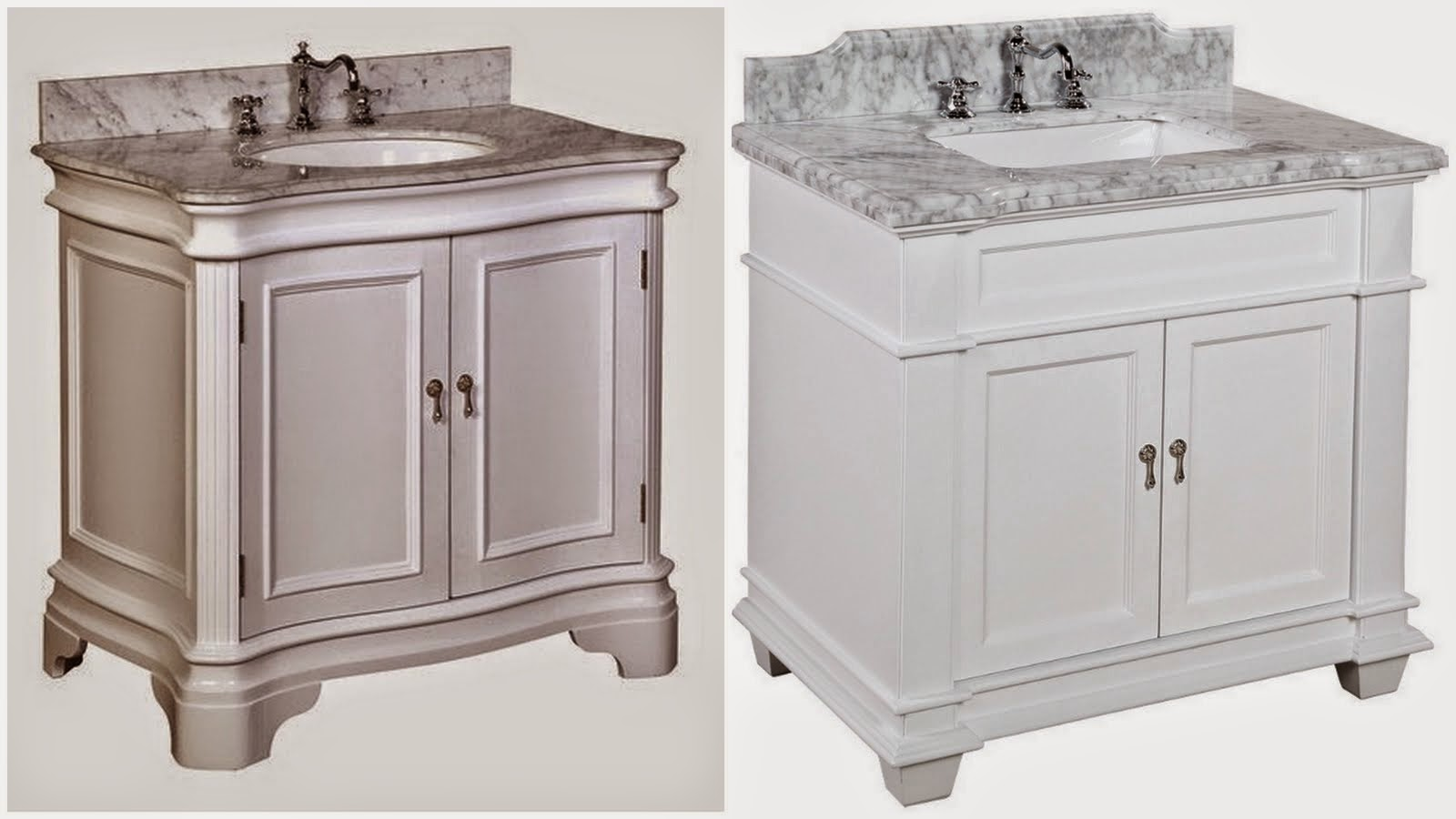 Our Classic, White Bathroom Vanity Is On The Way! (and A Surprise Discount)