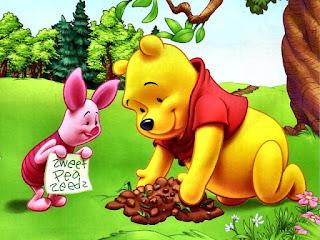 Gambar Winnie The Pooh dan Piglet Wallpaper