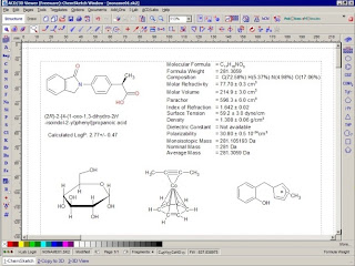 ACD/ChemSketch 11.01 build: Menggambar Lambang Kimia Lebih Mudah