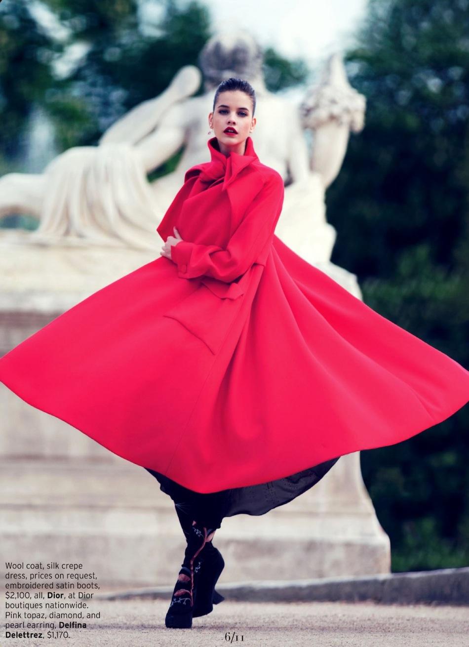 Barbara Palvin By David Bellemere For Elle US | August