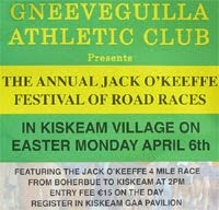 NW Cork...Boherbue-Kiskeam 4 mile race...East Monday 6th Apr