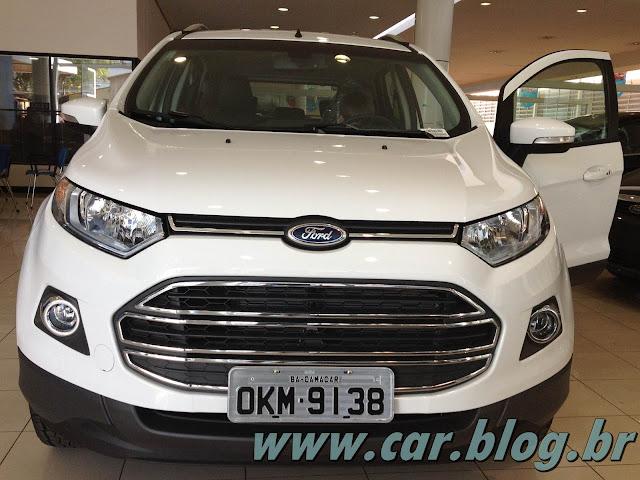 Novo Ford EcoSport 2013 - frente
